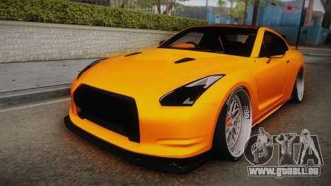 Nissan GT-R R35 2015 für GTA San Andreas