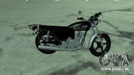 Cyclomoteur alpha v. 0.1 pour GTA San Andreas laissé vue