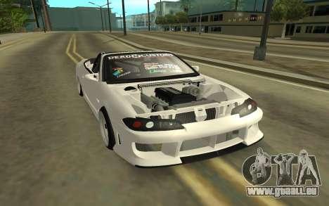 Nissan Silvia s15 Kabrio pour GTA San Andreas