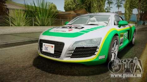 Audi R8 Coupe 4.2 FSI quattro EU-Spec 2008 Dirt pour GTA San Andreas moteur