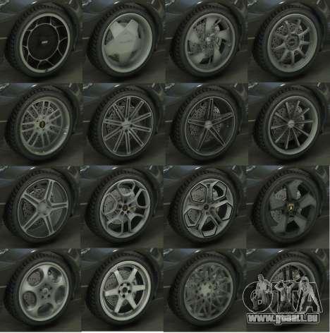 GTA 5 Real Wheels Pack deuxième capture d'écran