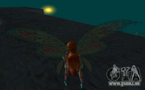 Bloom Believix from Winx Club Rockstars pour GTA San Andreas troisième écran