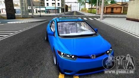 Honda Civic Si für GTA San Andreas linke Ansicht