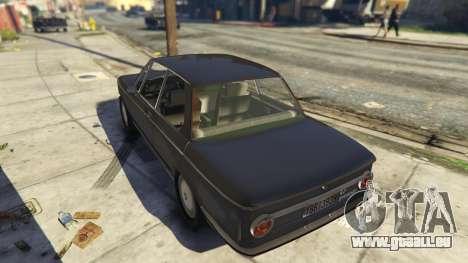 BMW 2002 72 pour GTA 5