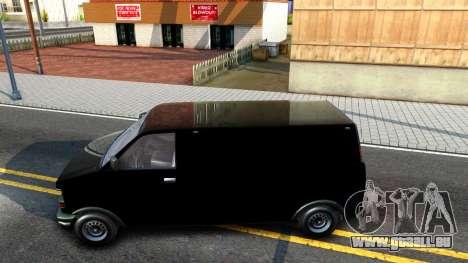 GTA V Declasse Burrito pour GTA San Andreas laissé vue