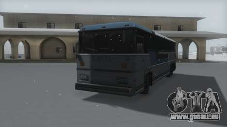 Bus Winter IVF pour GTA San Andreas vue de droite