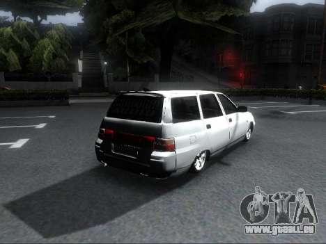 VAZ 2111 Audio pour GTA San Andreas laissé vue