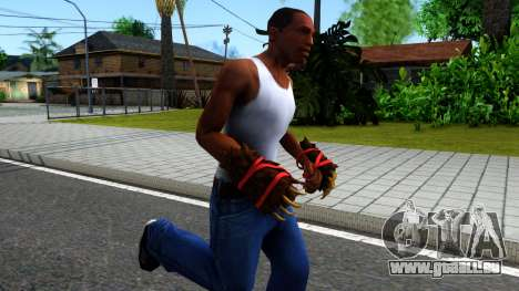 Red Bear Claws Team Fortress 2 für GTA San Andreas zweiten Screenshot