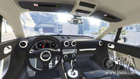 GTA 5 Audi TT (8N) 2004 v1.1 [replace] droite vue latérale