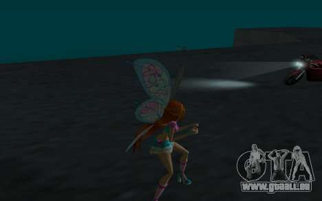 Bloom Believix from Winx Club Rockstars pour GTA San Andreas quatrième écran