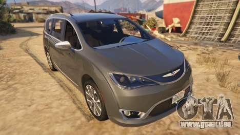 Chrysler Pacifica Limited 2017 für GTA 5