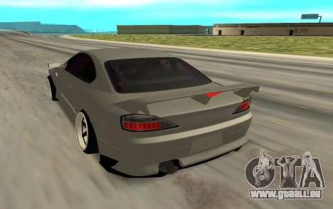 Nissan Silvia S15 Face BMW 46 für GTA San Andreas linke Ansicht