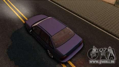 Daewoo Cielo 2001 pour GTA San Andreas vue arrière