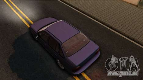 Daewoo Cielo 2001 für GTA San Andreas Rückansicht
