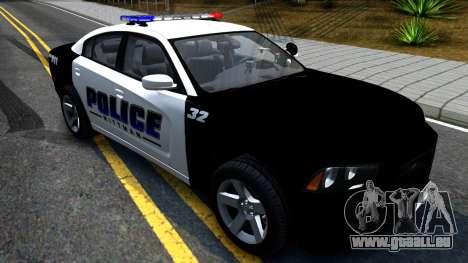 Dodge Charger Rittman Ohio Police 2013 für GTA San Andreas rechten Ansicht
