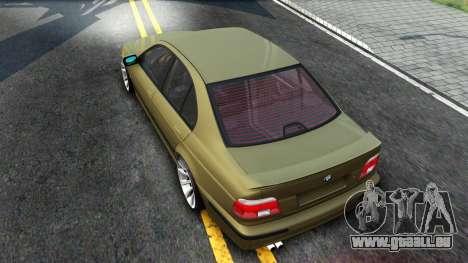 BMW 530D E39 pour GTA San Andreas vue de droite