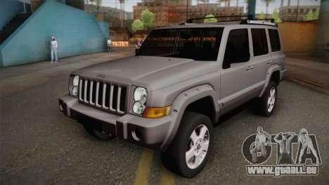 Jeep Commander 2010 für GTA San Andreas