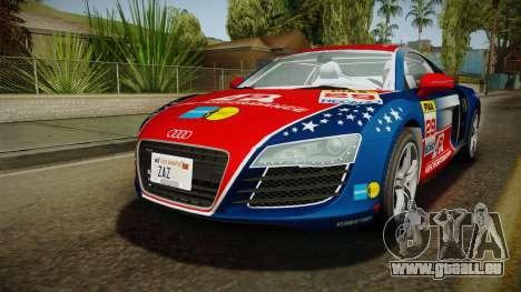Audi R8 Coupe 4.2 FSI quattro EU-Spec 2008 Dirt für GTA San Andreas