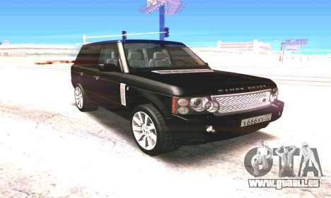 Land Rover 2010 für GTA San Andreas