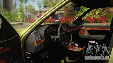 Mercedes-Benz 500SE 1991 v1.1 pour GTA San Andreas vue intérieure