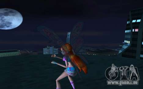 Bloom Believix from Winx Club Rockstars für GTA San Andreas zweiten Screenshot