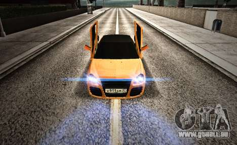 Lada Priora Tuning pour GTA San Andreas vue de droite