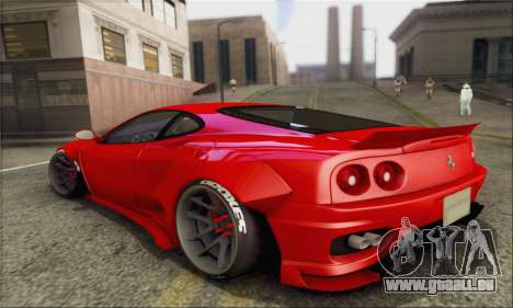 Ferrari 360 LB Work für GTA San Andreas linke Ansicht