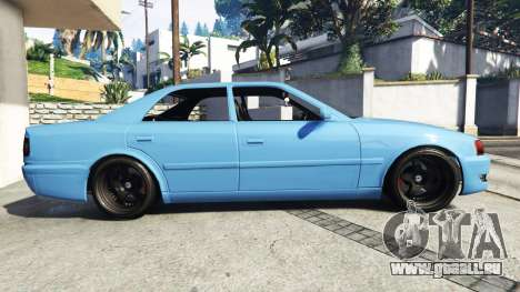 GTA 5 Toyota Chaser (JZX100) v1.1 [add-on] linke Seitenansicht