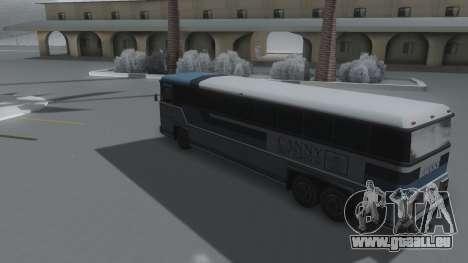 Bus Winter IVF pour GTA San Andreas laissé vue