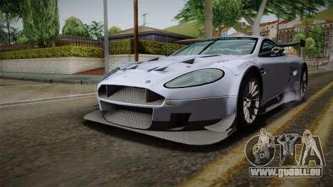 Aston Martin Racing DBR9 2005 v2.0.1 für GTA San Andreas rechten Ansicht