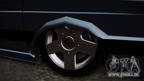 Volkswagen Saveiro 1994 pour GTA San Andreas vue arrière