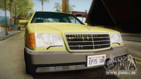 Mercedes-Benz 500SE 1991 v1.1 für GTA San Andreas rechten Ansicht