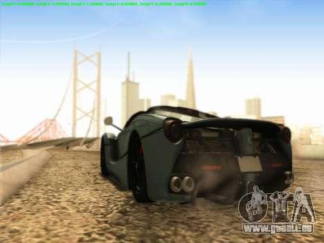 LaFerrari 2017 für GTA San Andreas rechten Ansicht