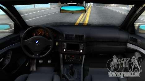 BMW 530D E39 pour GTA San Andreas vue intérieure