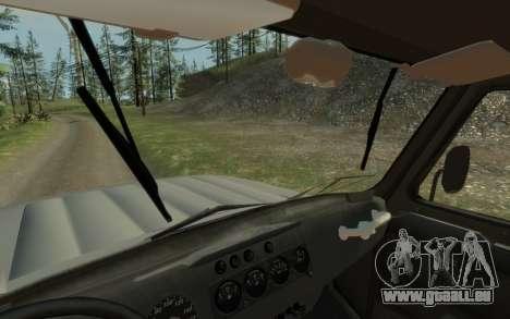 УАЗ 469 (Paul Black prod.) pour GTA 4 Vue arrière de la gauche