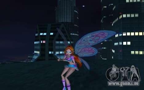 Bloom Believix from Winx Club Rockstars pour GTA San Andreas cinquième écran