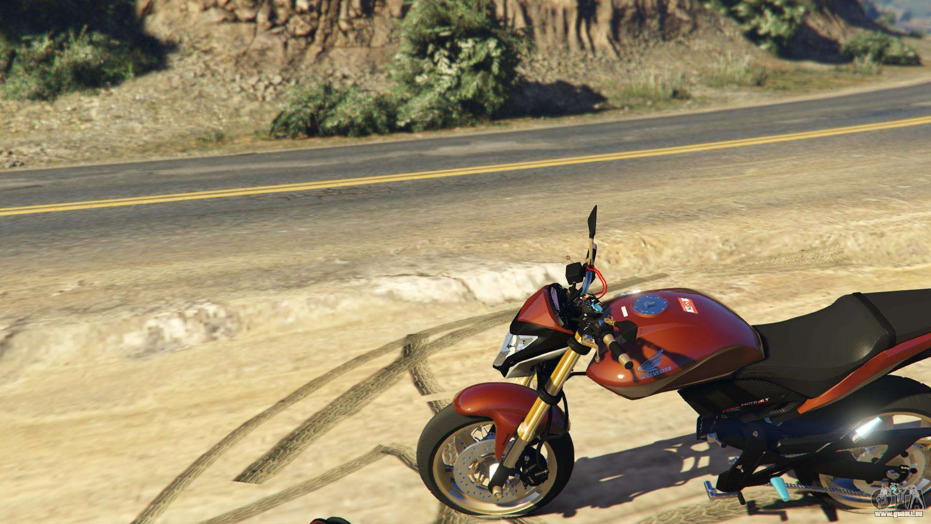 honda cb 600f hornet pour gta 5. Black Bedroom Furniture Sets. Home Design Ideas