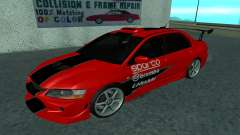 Mitsubishi Lancer Evolution VII für GTA San Andreas