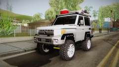 Toyota Land Cruiser Machito 2013 Sound Y pour GTA San Andreas