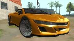 GTA V Dynka Jester Spider für GTA San Andreas
