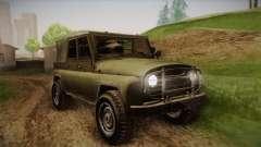 УАЗ-3151 CoD4 MW Remastered pour GTA San Andreas