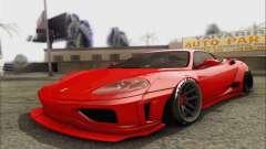 Ferrari 360 LB Work pour GTA San Andreas