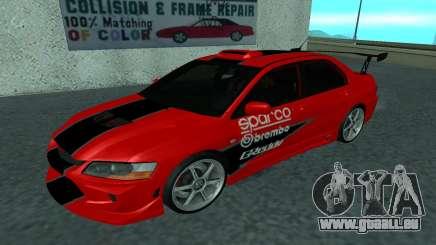 Mitsubishi Lancer Evolution VII pour GTA San Andreas