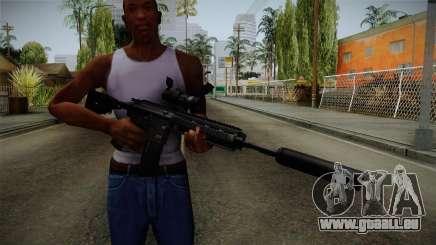 HK416 v4 für GTA San Andreas