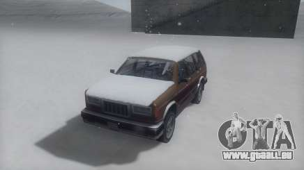Landstalker Winter IVF pour GTA San Andreas
