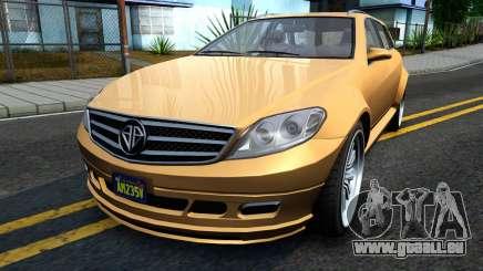 GTA V Benefactor Schafter Wagon für GTA San Andreas
