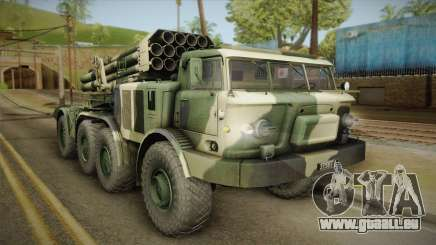 BM-27 Uragan (9P140) pour GTA San Andreas