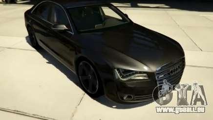 2010 Audi A8 FSI v4.0 pour GTA 5