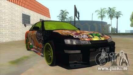 Azuki Azusa Itasha Nissan Silvia Vinyl pour GTA San Andreas