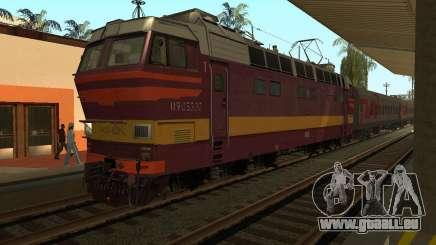 Passenger locomotive CHS4t-521 für GTA San Andreas